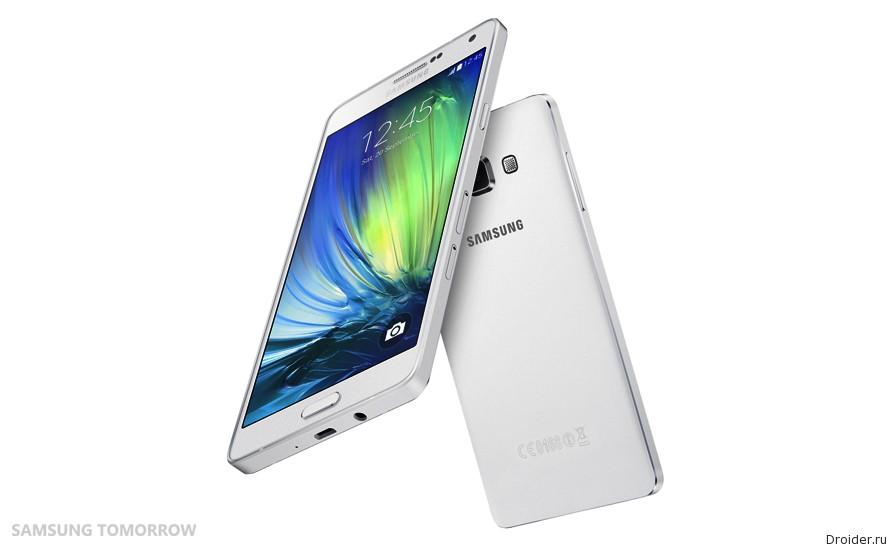 Samsung анонсировала смартфон Galaxy A7