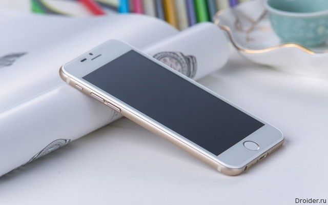 Копия iPhone 6 с интерфейсом TouchWiz