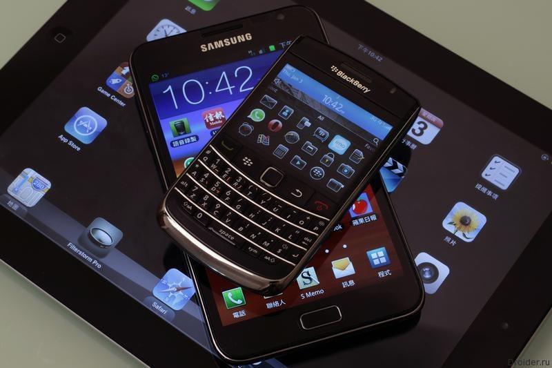 Samsung желает сотрудничать с Blackberry, не покупать