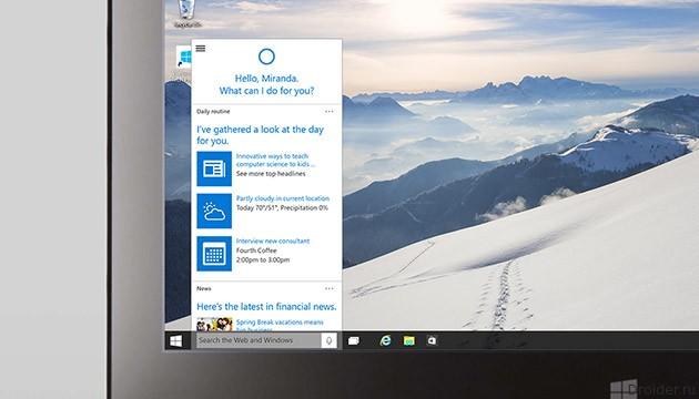 Microsoft опубликовала новый тестовый билд Windows 10