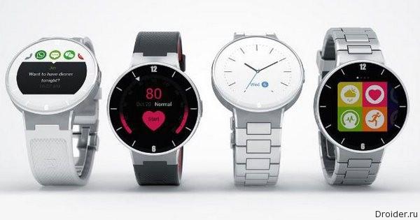 Alcatel представит смарт-часы на CES 2015