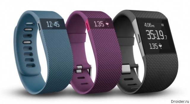 Новинки Fitbit: фитнес-браслет Charge HR и «сверхчасы» Surge