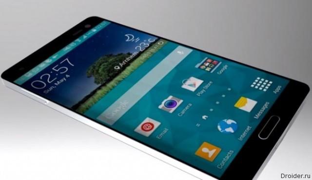 Концепт Galaxy S6