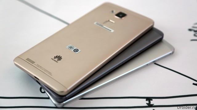 Первые фото смартфона Mate 8 от Huawei