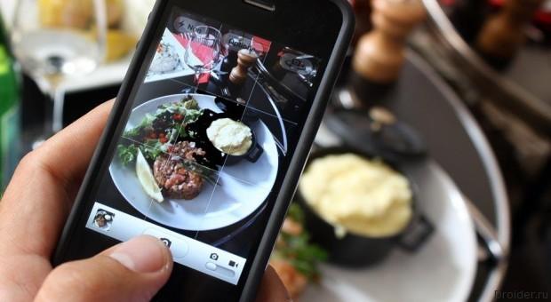 Tablescape от Google покажет миру то, что вы едите