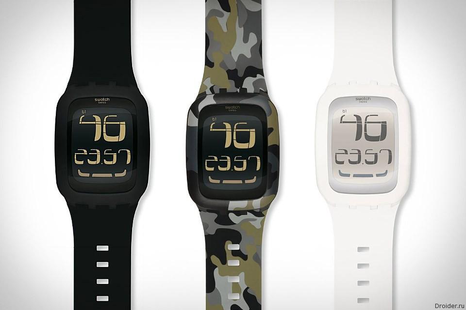 Swatch в апреле представит «умные» часы Touch