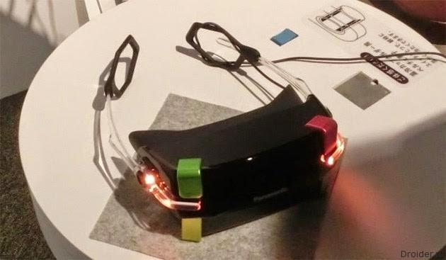 Panasonic и VR-шлем