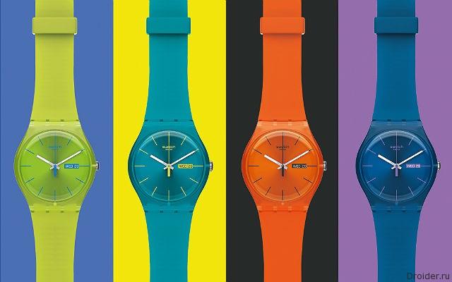 Swatch работает над «умными» часами