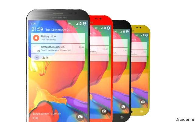 Свежая информация о Galaxy S6 от Samsung
