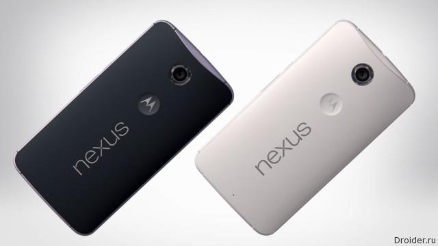Флагман Nexus 6 появился на Amazon