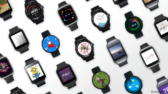 Часы на Android Wear