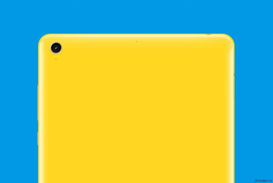 Первые «живые» фото MiPad 2 от Xiaomi
