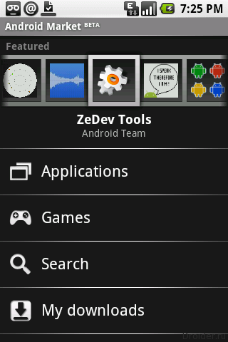 Android Market 1.0