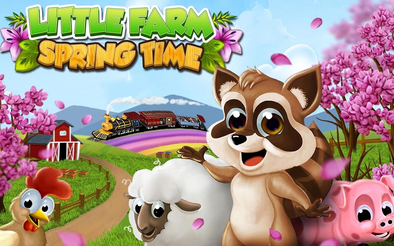 Весна на маленькой ферме