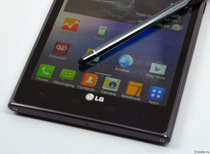 LG готовится к выпуску флагманского фаблета G4 Note