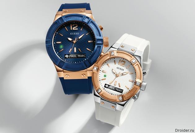Guess анонсировала стильные смарт-часы Connect