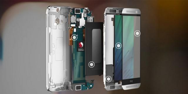 Первые снимки пластикового смартфона HTC One E9pt