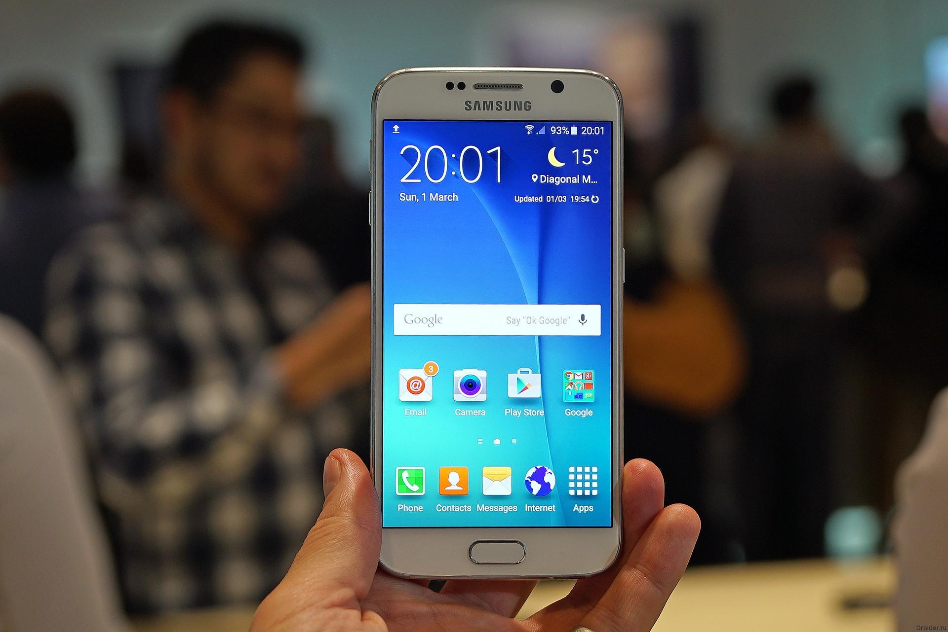 MyFixGuide разобрали Galaxy S6 от Samsung