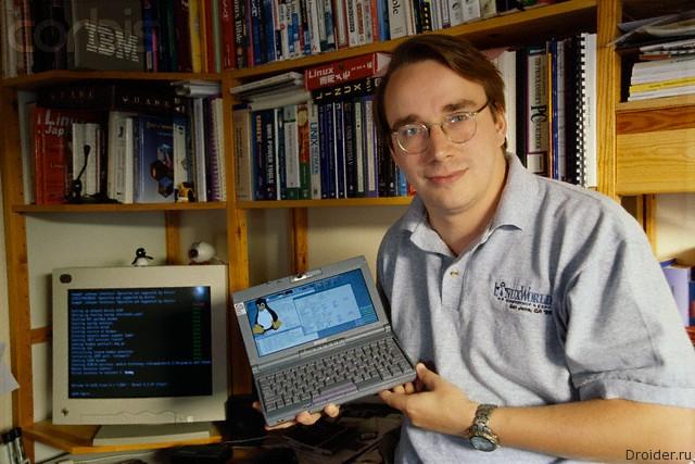 Linus Torvalds, 1999