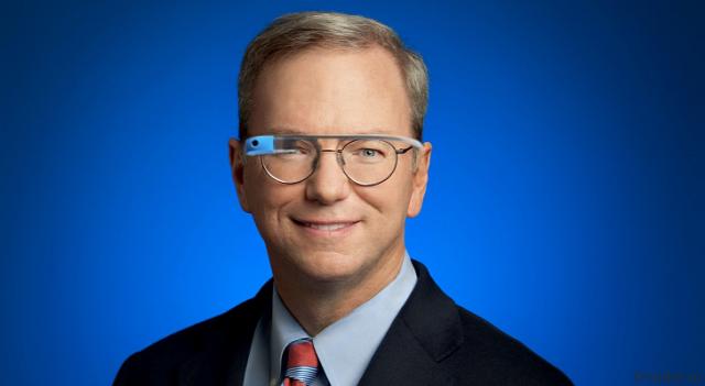 Эрик Шмидт: «Glass очень большая и значимая платформа для Google»
