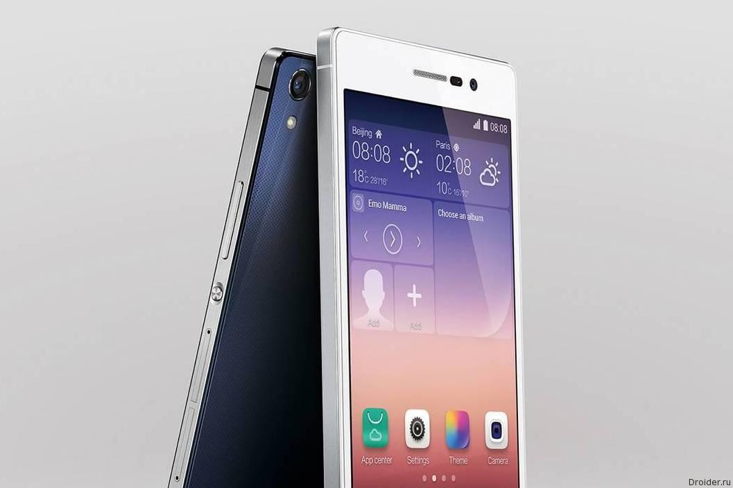 Изображения и характеристики P8 от Huawei попали в сеть