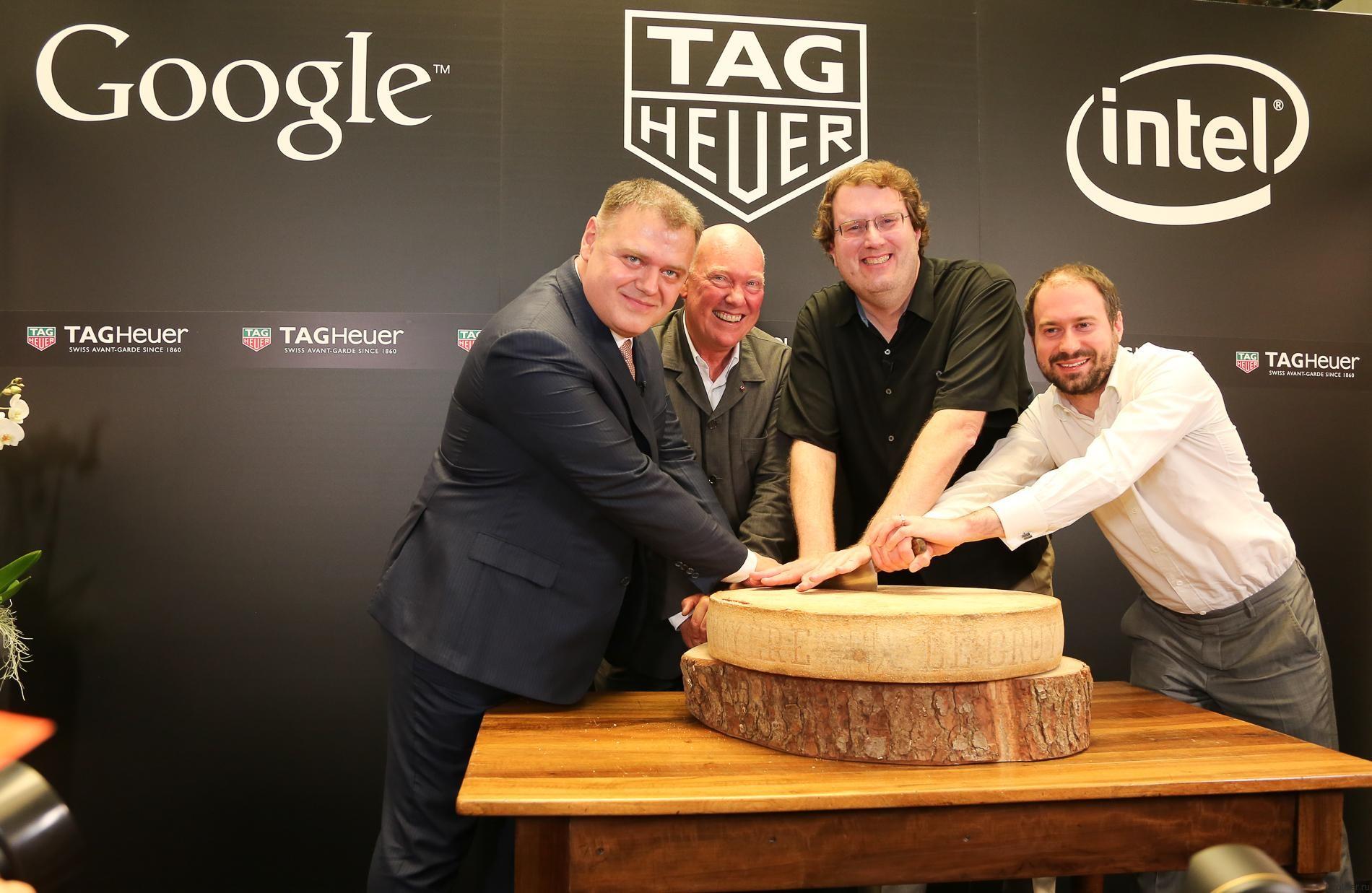 Google, Intel и TAG Heuer