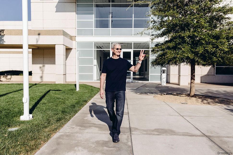 Тим Кук потратит личные финансы на благотворительность