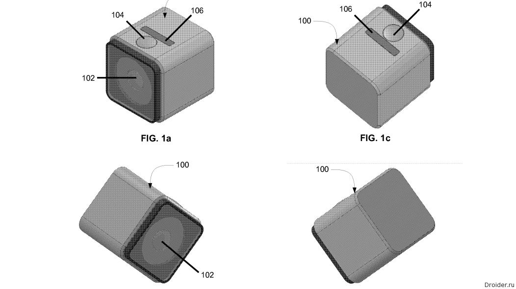 Следующая GoPro может предстать в форме куба
