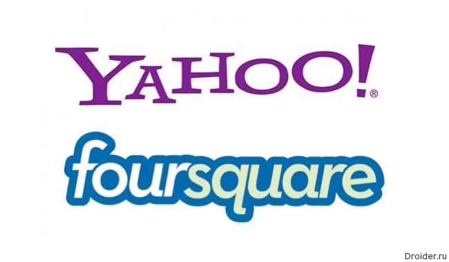 Yahoo! + Foursquare