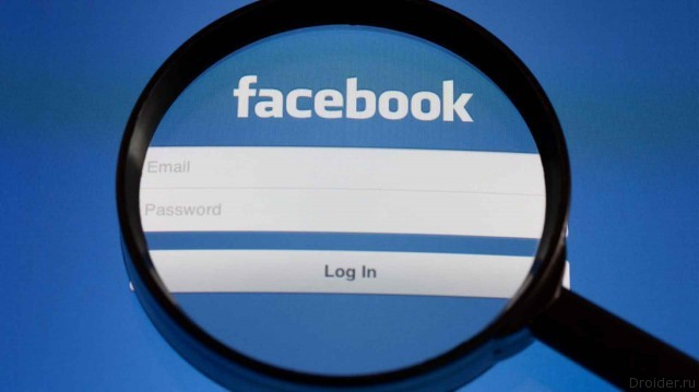 Facebook следит