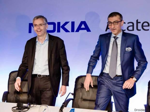Nokia и Alcatel-Lucent