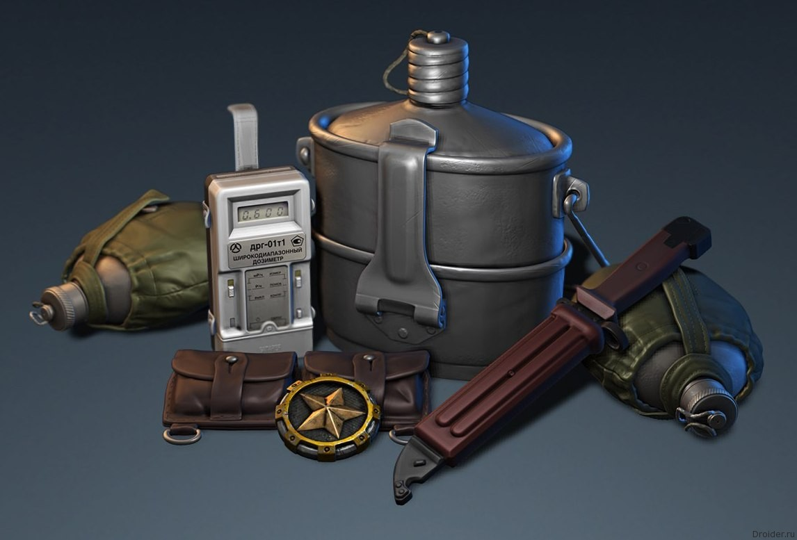 Модели предметов из якобы Stalker 2