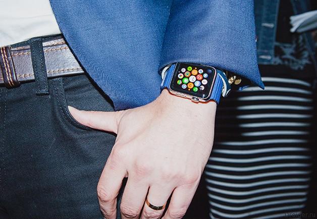 Первые сведения о следующем поколении Apple Watch