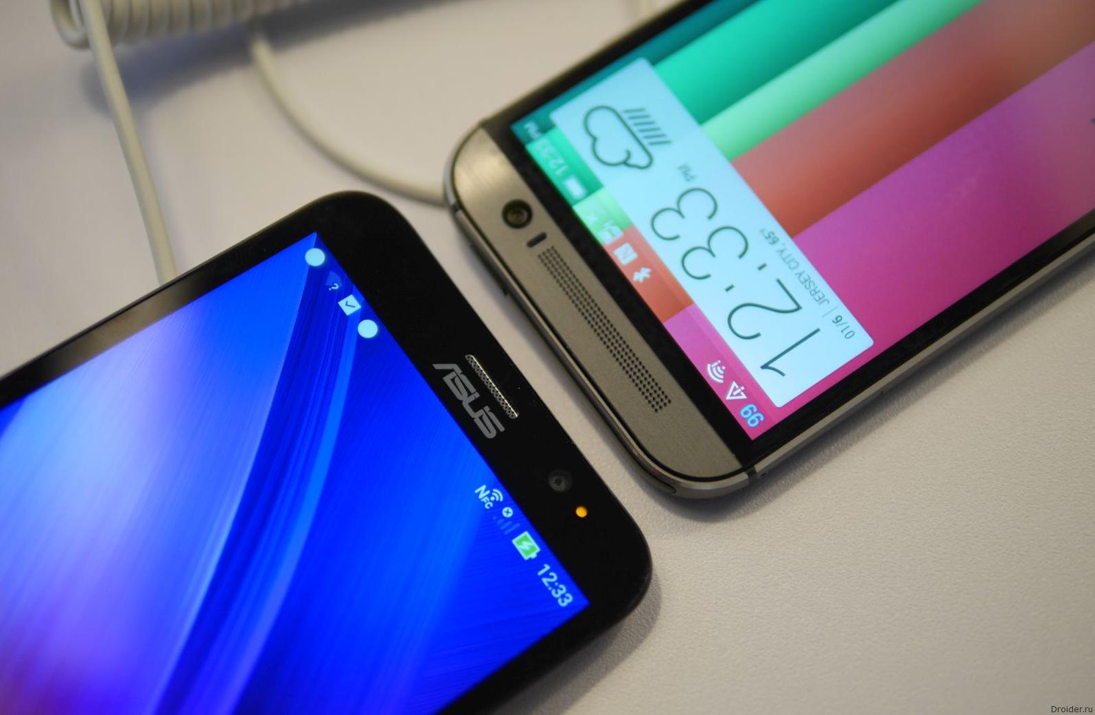 HTC не рассматривает возможность слияния с ASUS