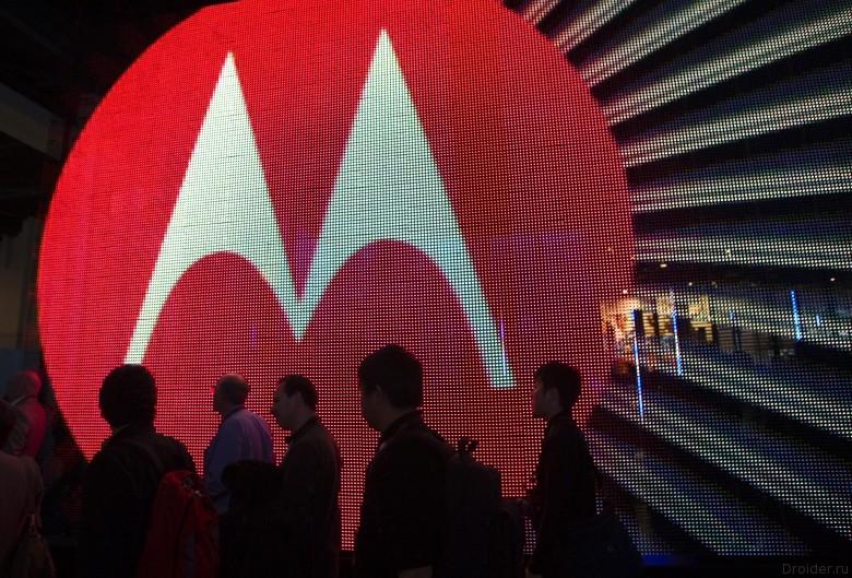 Новый Droid от Motorola засветился на «живом» снимке