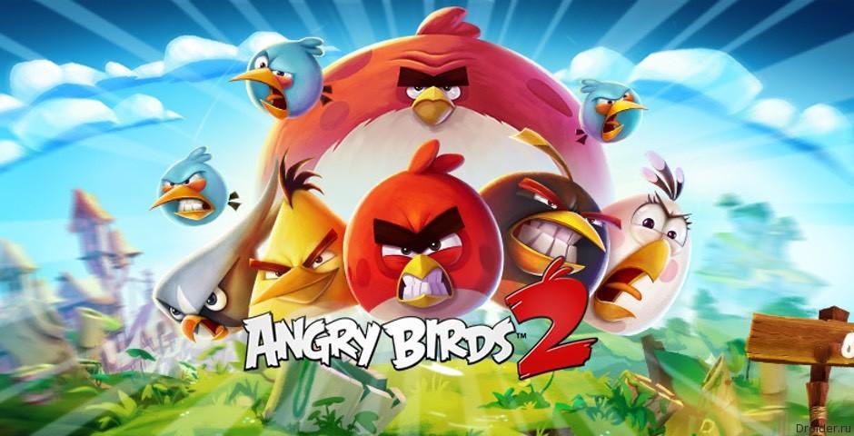 Игра Angry Birds 2 представлена официально