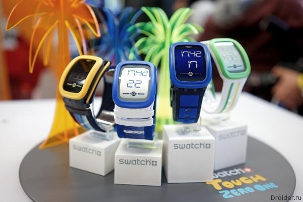 Обзор Swatch Touch Zero one