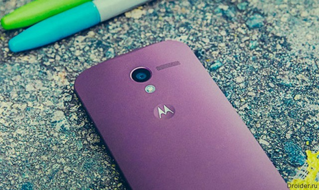 Для Moto G (2015) станет доступен сервис Moto Maker