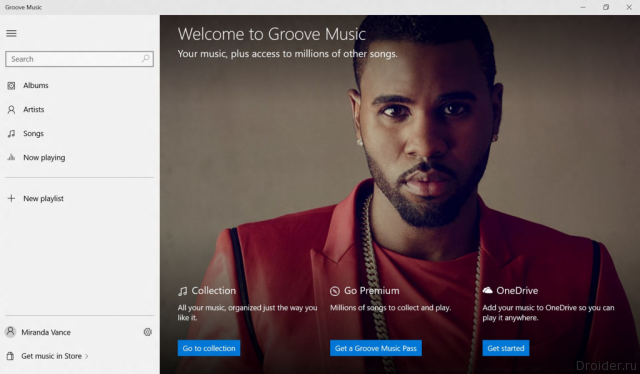 Groove — конкурент Apple Music от Microsoft