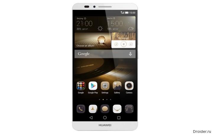«Живые» снимки и спецификации Mate S от Huawei