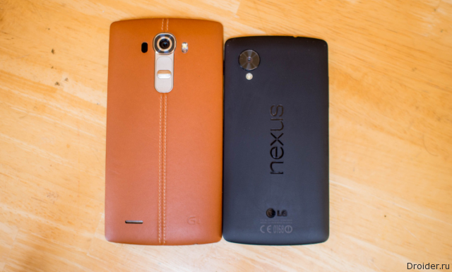 Уточнение характеристик нового Nexus 5 от LG