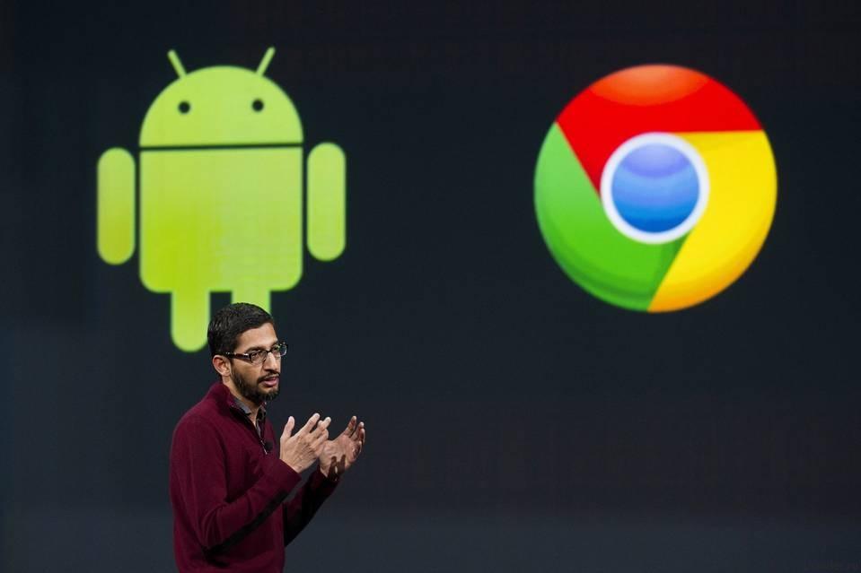 Google может объединить Android и Chrome OS в 2017 году
