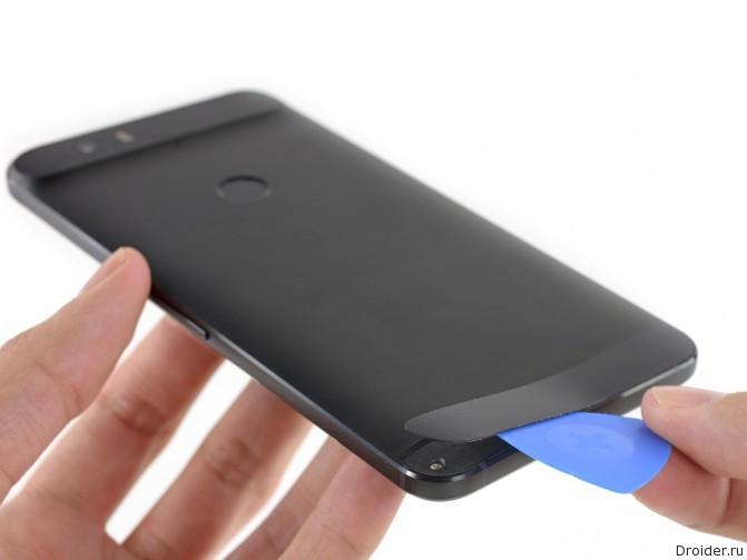 Смартфон Nexus 6P попал к мастерам iFixit