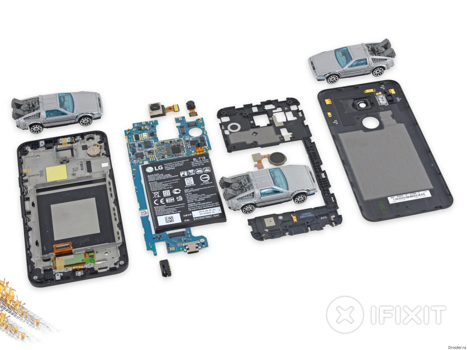 iFixit оценила ремонтопригодность Nexus 5X на 7 из 10