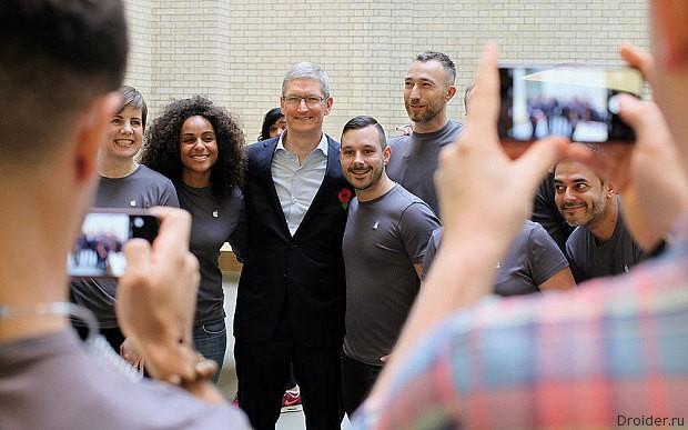 Тим Кук рассказал о новом продукте Apple