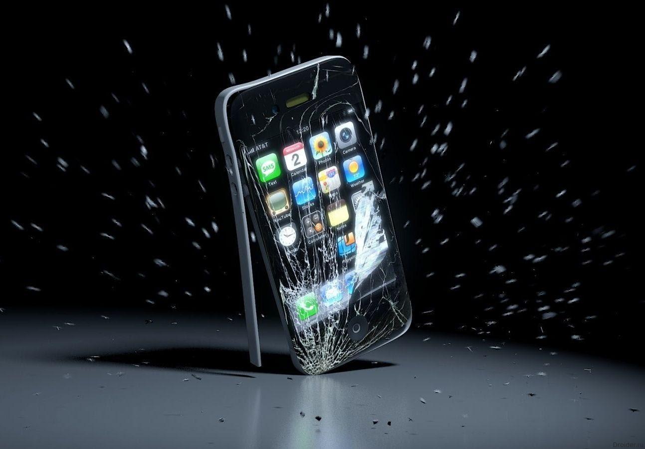 Физик вывел формулу падения смартфона на экран