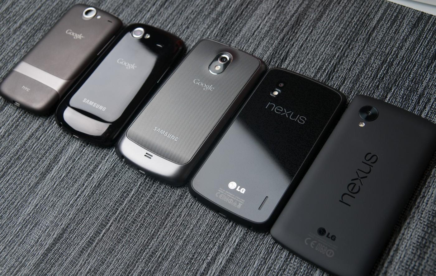 Google хочет самостоятельно делать смартфоны Nexus