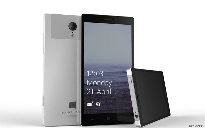 Surface Phone от Microsoft засветился в бенчмарке