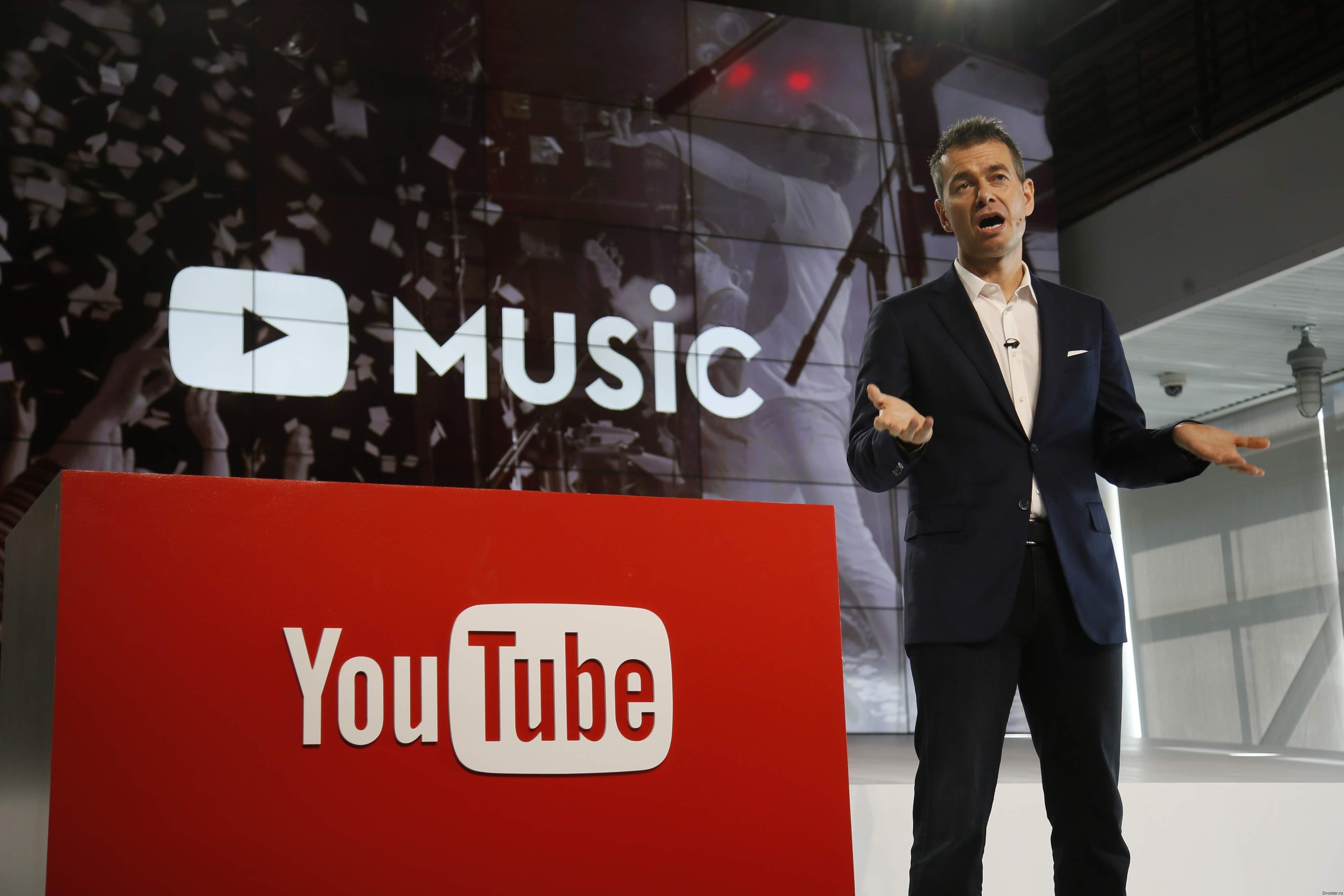 Google запустила YouTube Music