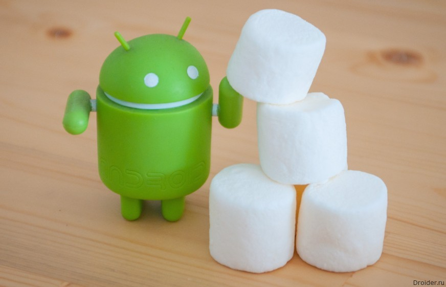 Android 6.0 Marshmallow установлен на 0.3% всех устройств